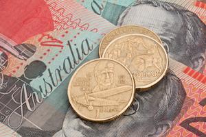 Australiska dollarmynt och sedlar