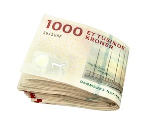 Danska 1000-kronorssedlar