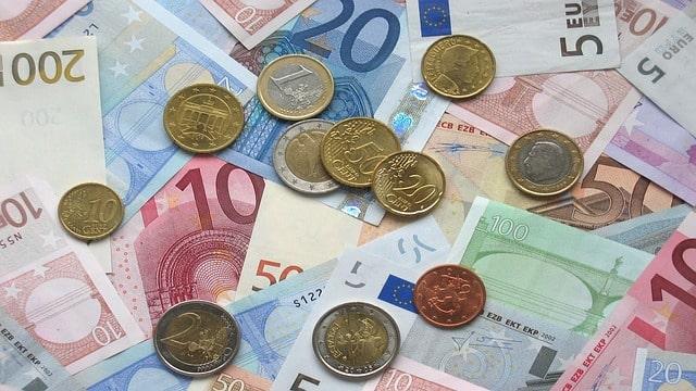 Eurosedlar och -mynt